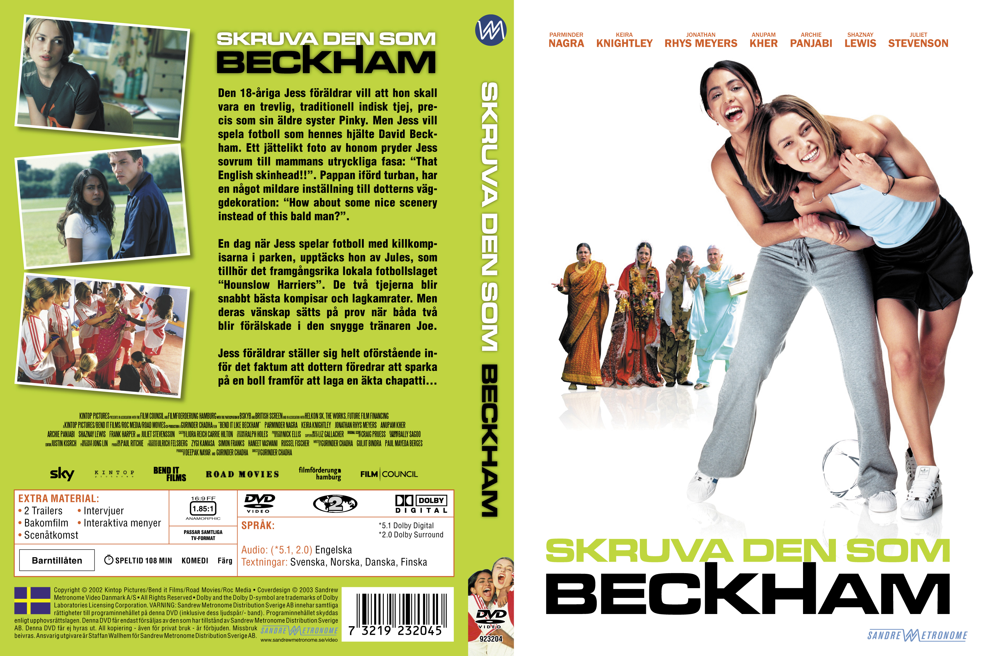 bend it like beckham film Watch bend it like beckham (2002) online for free full movie on gomovies now a comedy about bending the rules to reach your goal, bend it like beckham explores the world of women's football, from kick-abouts in the park to freekicks in the final.