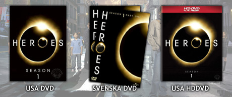 Heroes - DVD & HDDVD